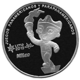 MEDALLA JUEGOS PANAMERICANOS Y PARAPANAMERICANOS